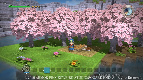 Dragon Quest Builders Cherry Blossoms