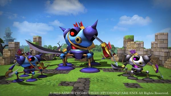 Dragon Quest Builder Golem