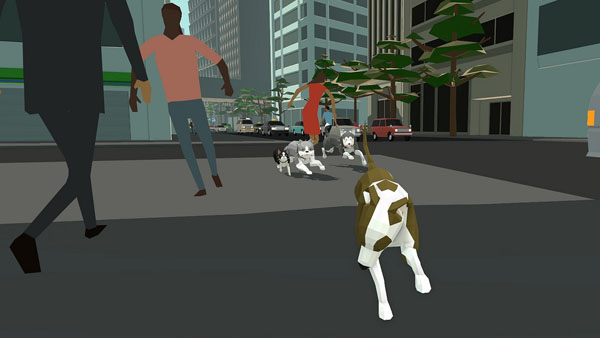 open world dog survival game home free coming to ps4 gematsu. Black Bedroom Furniture Sets. Home Design Ideas