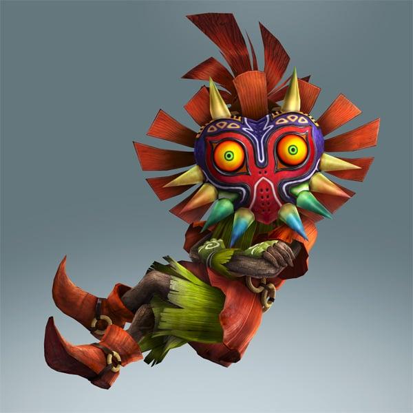 Hyrule Warriors Legends 'Skull Kid' details, screenshots