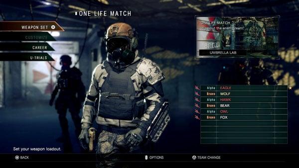 Umbrella Corps Quot One Life Match Quot Gameplay Video Gematsu