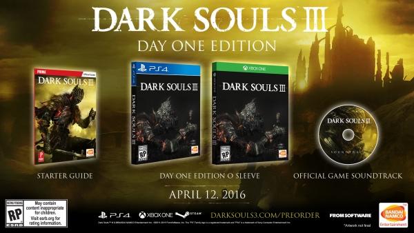 Dark Souls III Day One Edition
