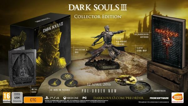 Dark Souls III European Collector's Edition