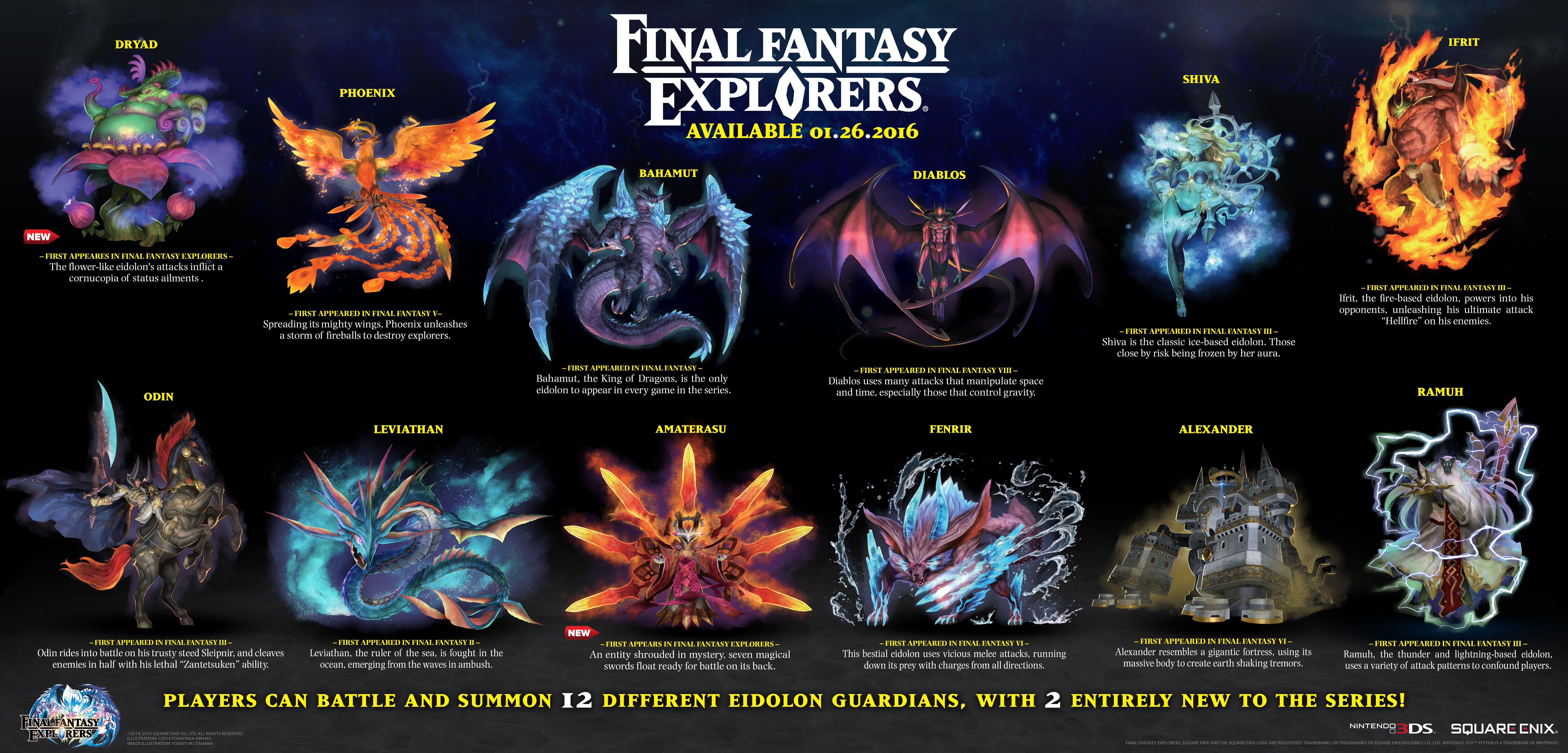 Final fantasy summons
