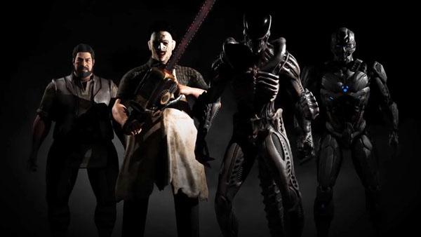 Mortal Kombat X - Leatherface, Xenomorph, Bo Rai Cho, and Tri-Borg