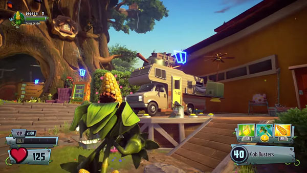 Plants Vs Zombies Garden Warfare 2 Solo Play Trailer Gematsu