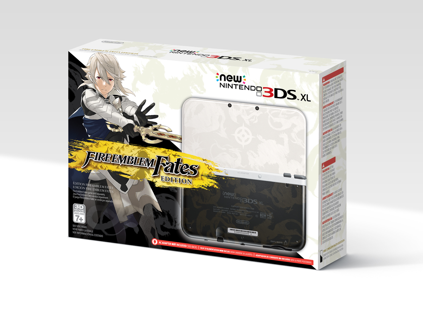 fire emblem fates edition new 3ds xl announced for north. Black Bedroom Furniture Sets. Home Design Ideas