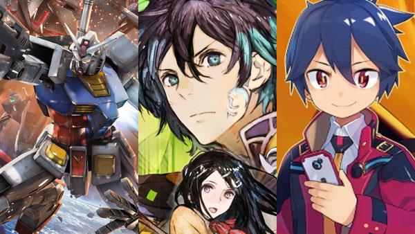 Gundam, Genei Ibun Roku #FE, and Medabots 9