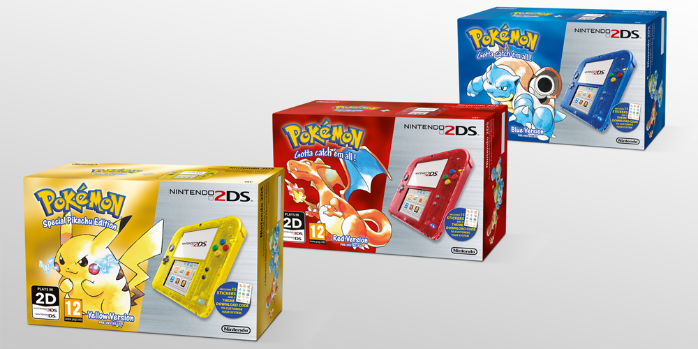 Classic pokemon 3ds and 2ds bundles announced for north for Housse 2ds xl pokemon
