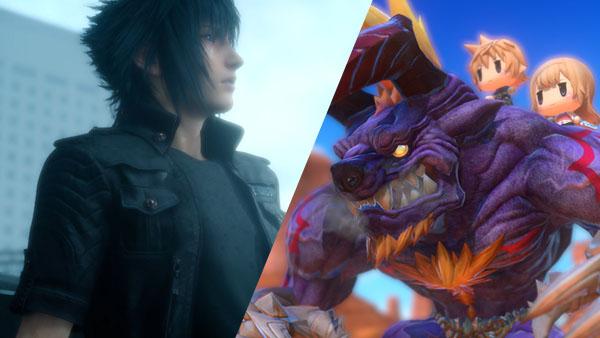Final Fantasy XV and World of Final Fantasy