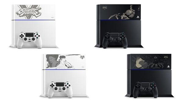 Street Fighter V PS4 models