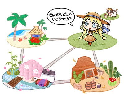 story of seasons good friends of three villages first details