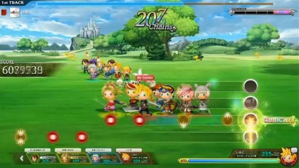 Theatrhythm Final Fantasy Arcade