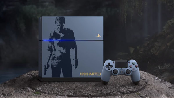 Uncharted 4: Among Thieves PS4 Hardware Bundle