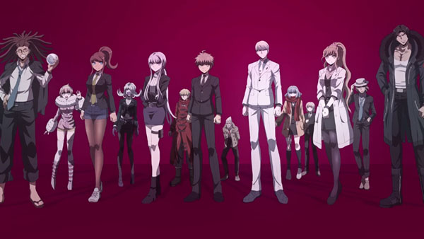 Danganronpa 3 Anime Characters : Danganronpa anime split into two chapters first chapter