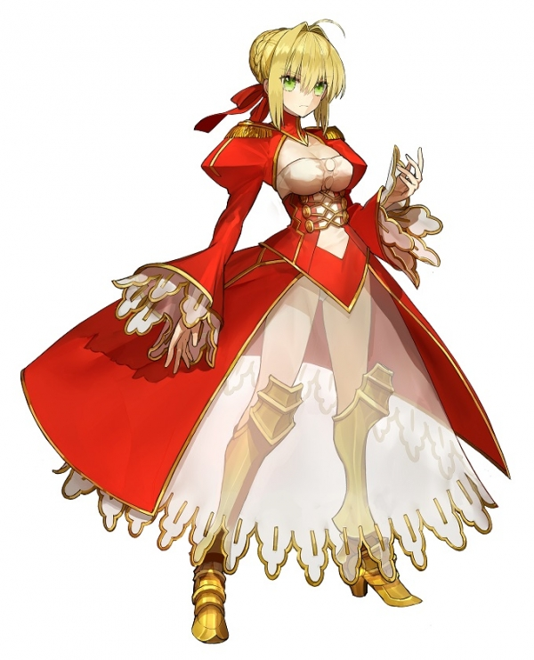 how tall is nero fate