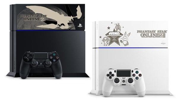 Phantasy Star Online 2 PS4 models
