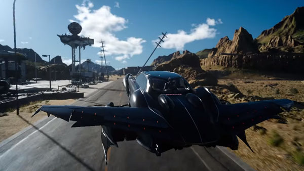 Final Fantasy XV's flying car will be fully controllable ... регалия