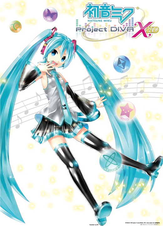 Hatsune miku project diva x hd for ps4 launches august 25 in japan gematsu - Hatsune miku project diva x ...