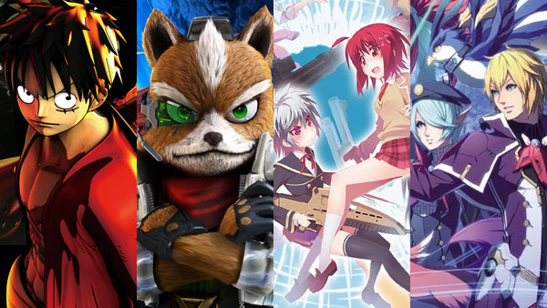 One Piece Burning Blood, Star Fox Zero, Bullet Girls 2, and Phantasy Star Online 2