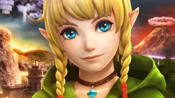 Linkle from Hyrule Warriors