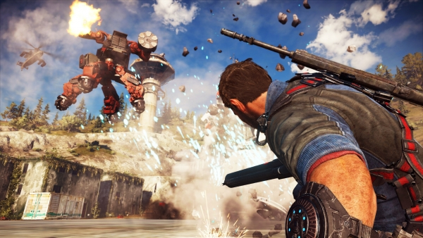 Just Cause 3 'Mech Land Assault' DLC