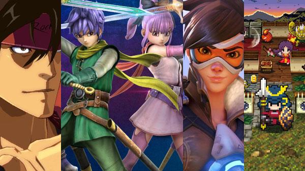 Guilty Gear Xrd: Revelator, Dragon Quest Heroes II, Overwatch, and ClaDun Sengoku
