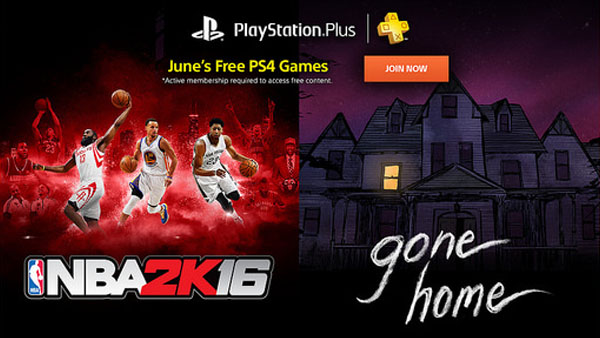 NBA 2K16 / Gone Home