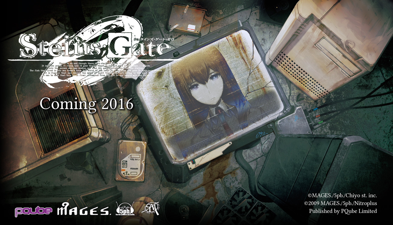 Steins;Gate 0 coming west for PS4, PS Vita in 2016 - Gematsu
