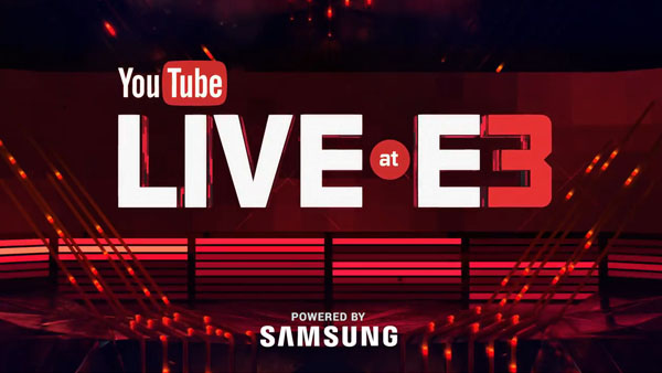 YouTube Live at E3 2016
