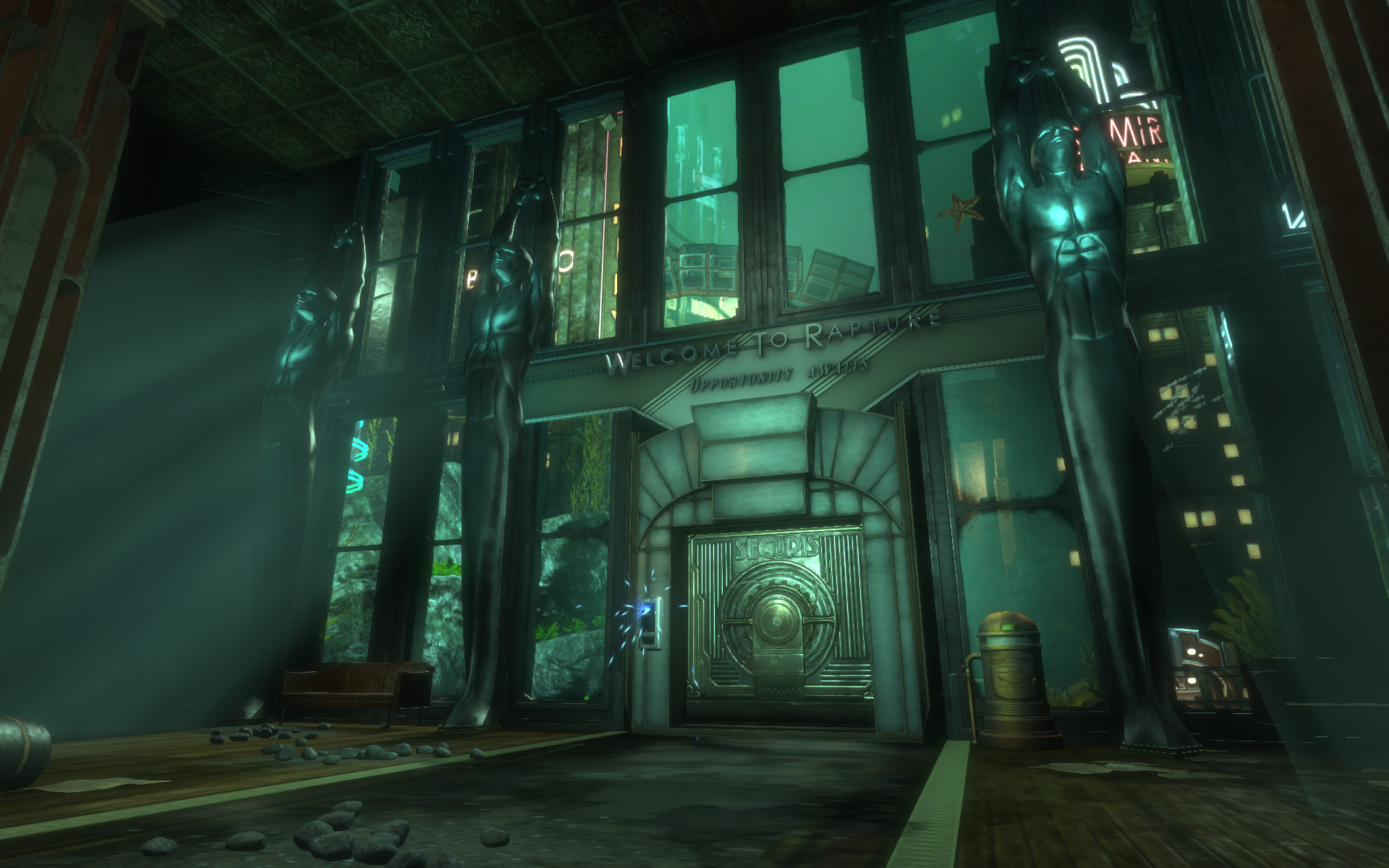 Bioshock the collection screenshots leaked gematsu for The collection com
