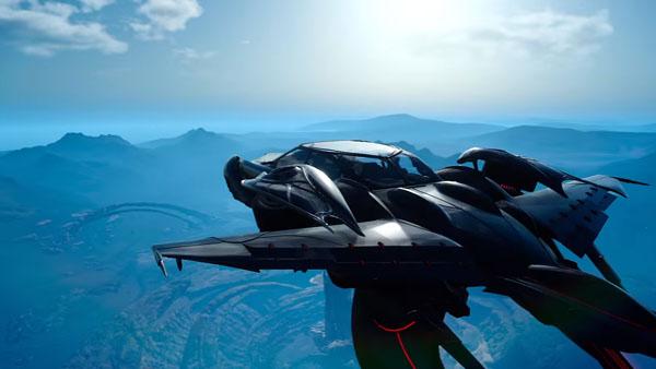 Final Fantasy 15 Flying Car How To Unlock The Regalia