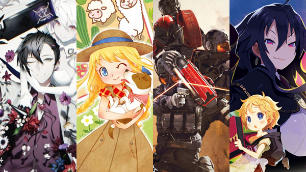 Caligula, Story of Seasons: Trio of Towns, Umbrella Corps, Coven and Labyrinth of Refrain