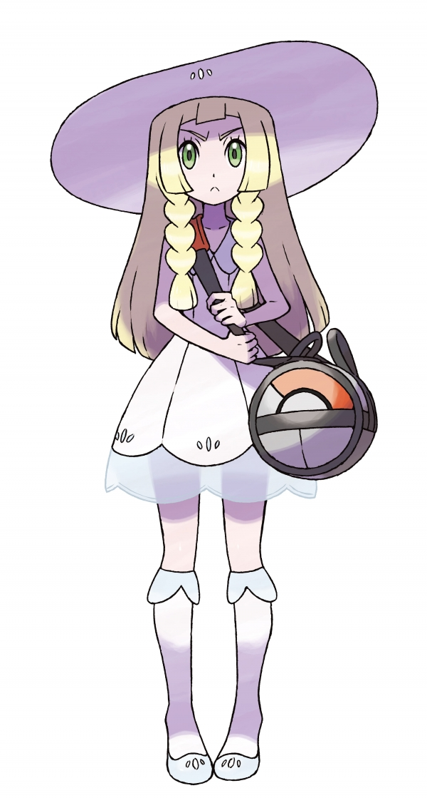 pokemon sun and moon lillie