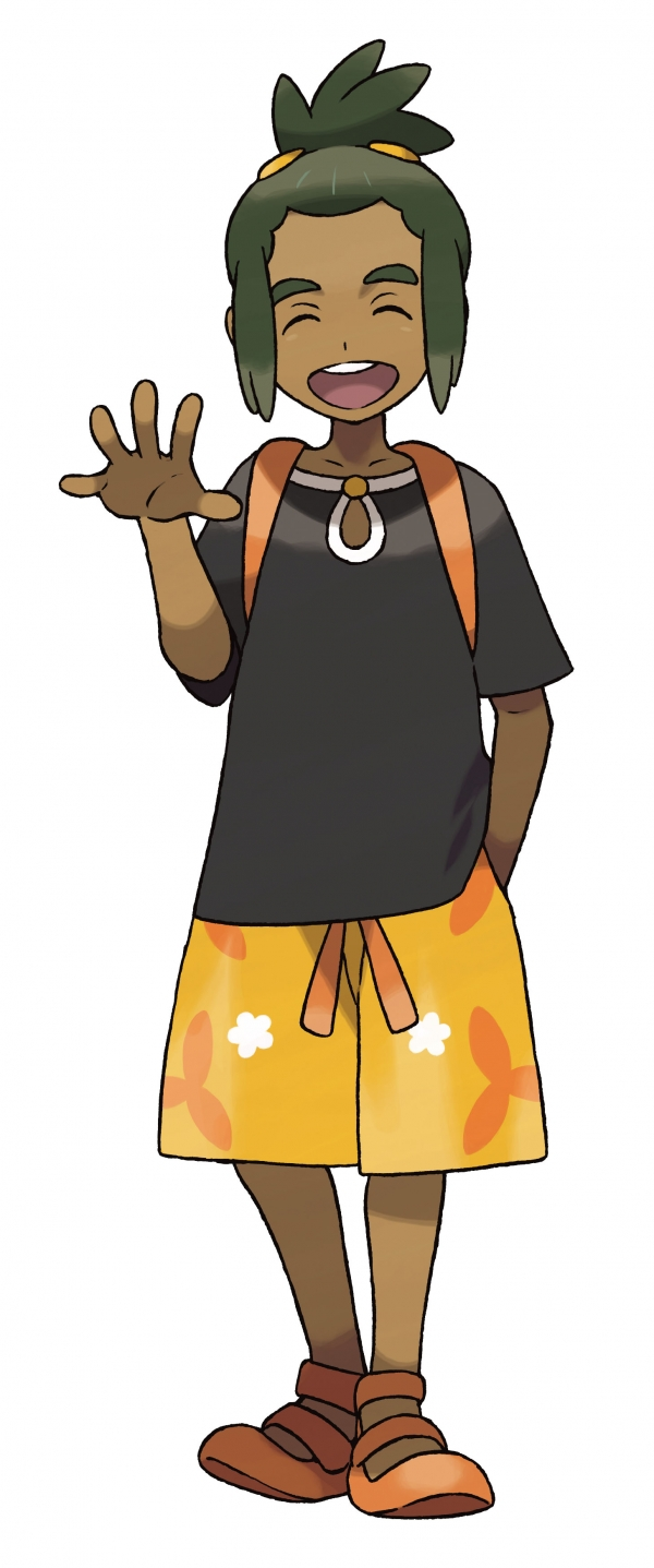 pokemon sun and moon friend hau