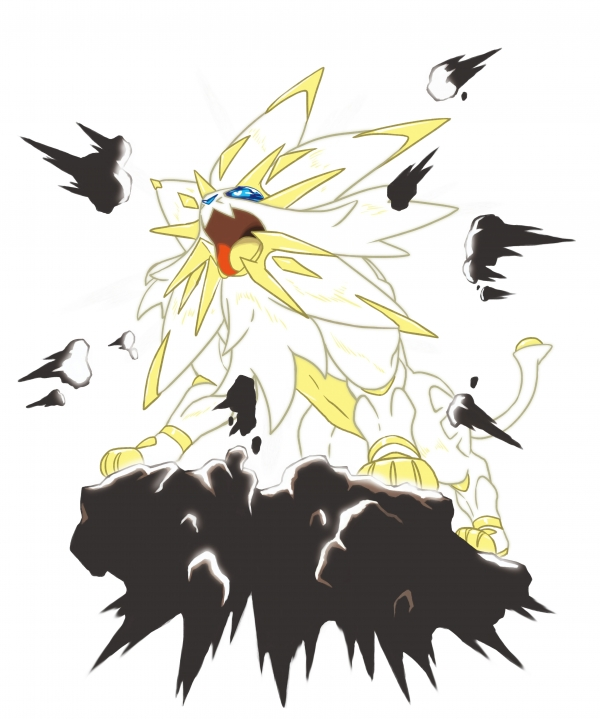 Pokemon Sun And Moon Reveals Battle Royal New Pokemon Gematsu