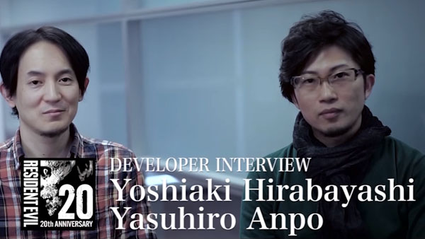 Resident Evil 20th anniversary video interview: Yoshiaki Hirabayashi and Yasuhiro Anpo