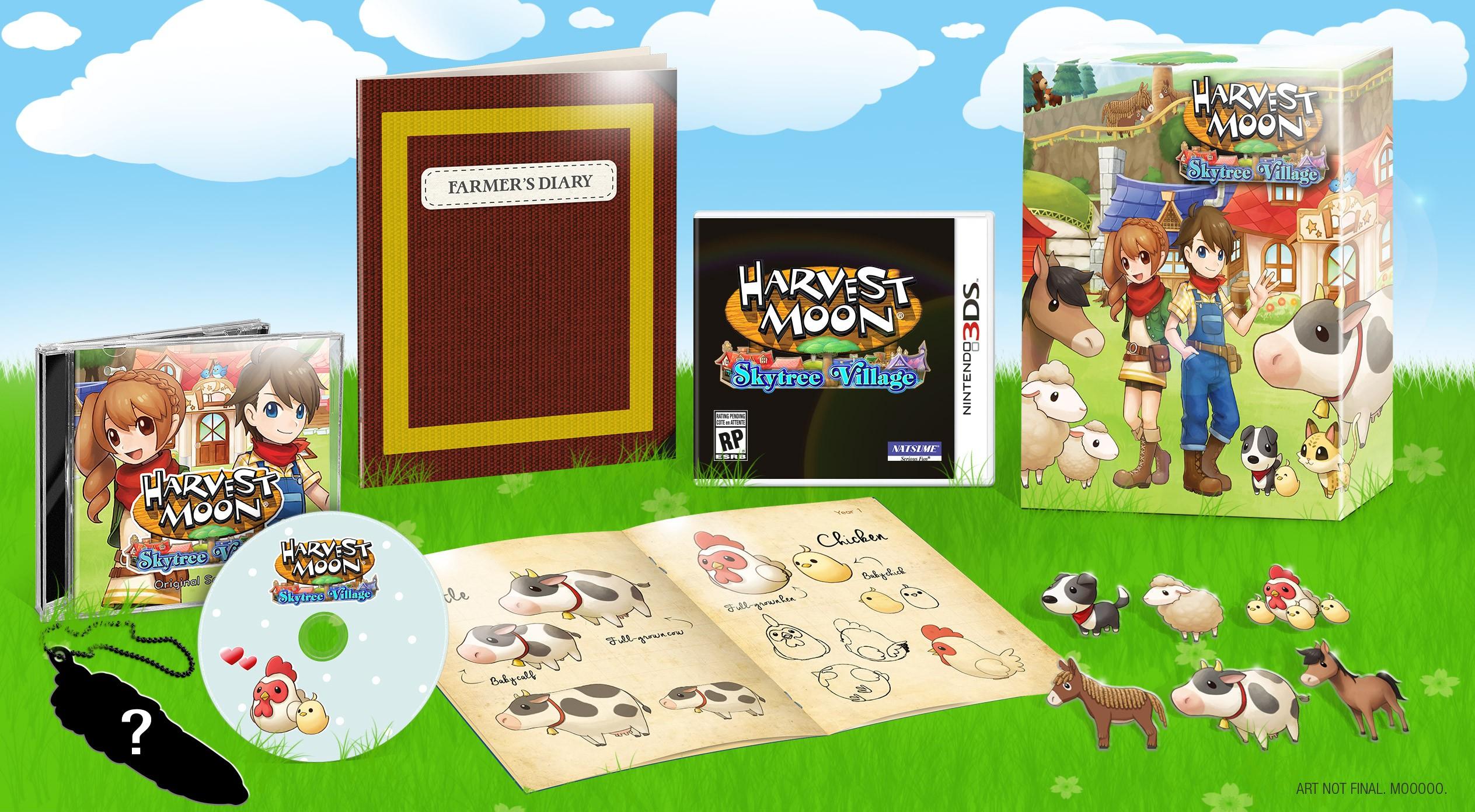 Harvest Moon Skytree Village limited edition announced Gematsu