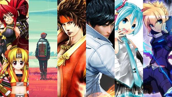 Sengoku Otome: Legend Battle, No Man's Sky, Sengoku Basara: Sanada Yukimura-Den, The King of Fighters XIV, Hatsune Miku: Project Diva X, Azure Striker Gunvolt 2