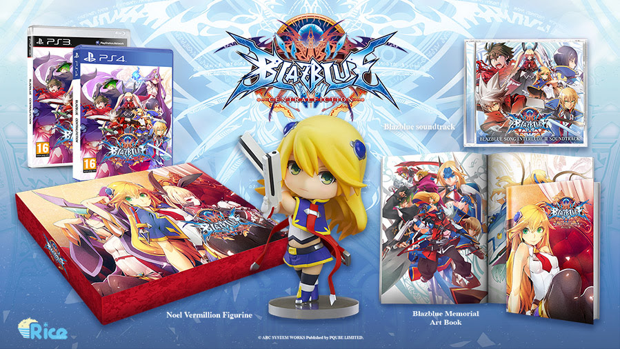 BlazBlue: Central Fiction 'Azure Edition' announced for