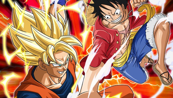 One Piece: Great Pirate Colosseum and Dragonball Z: Extreme Butoden
