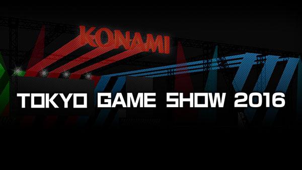 Konami at TGS 2016