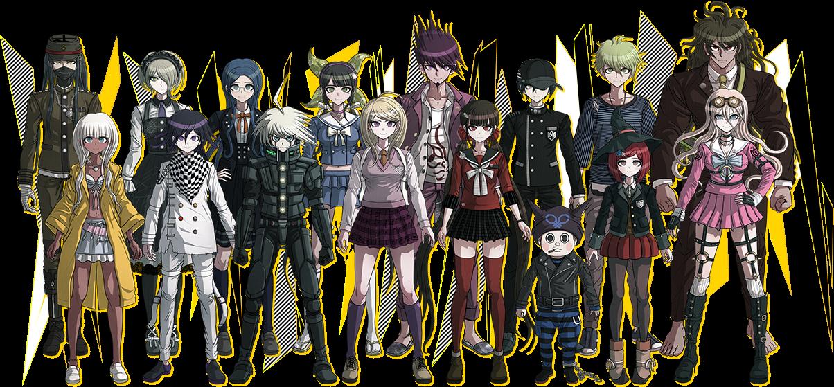Danganronpa 3 Anime Characters : New danganronpa v reveals cast artwork children of