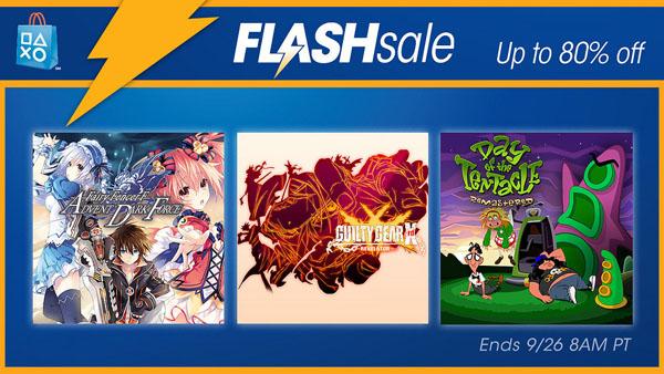 PSN Flash Sale: September 23