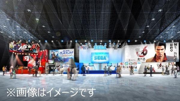 Sega at TGS 2016