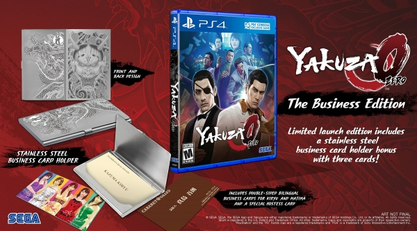 Yakuza 0 'The Business Edition'