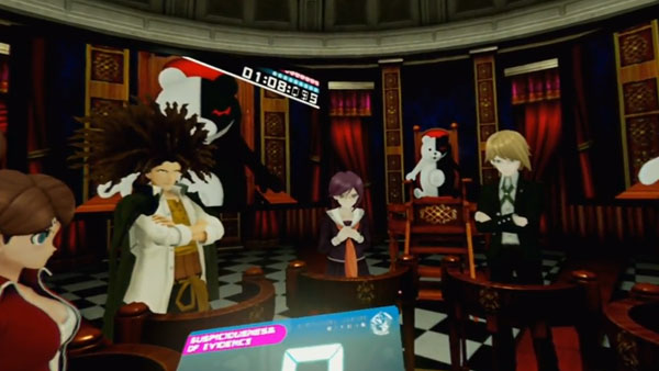 Cyber Danganronpa VR: The Class Trial