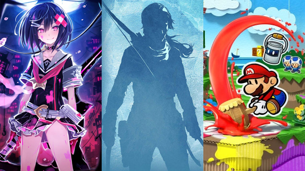 Mary Skelter, Rise of the Tomb Raider, and Paper Mario: Color Splash