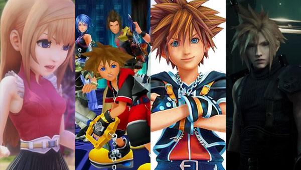 World of Final Fantasy, Kingdom Hearts 2.8 and III, and Final Fantasy VII Remake