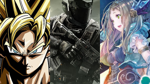 Dragon Ball Xenoverse 2 / Call of Duty; Infinite Warfare / Atelier Firis